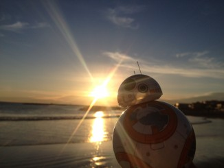 BB-8 at the beach
