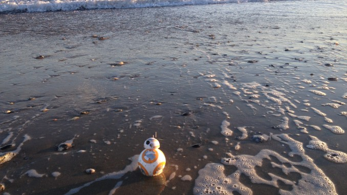 BB-8 near the sea
